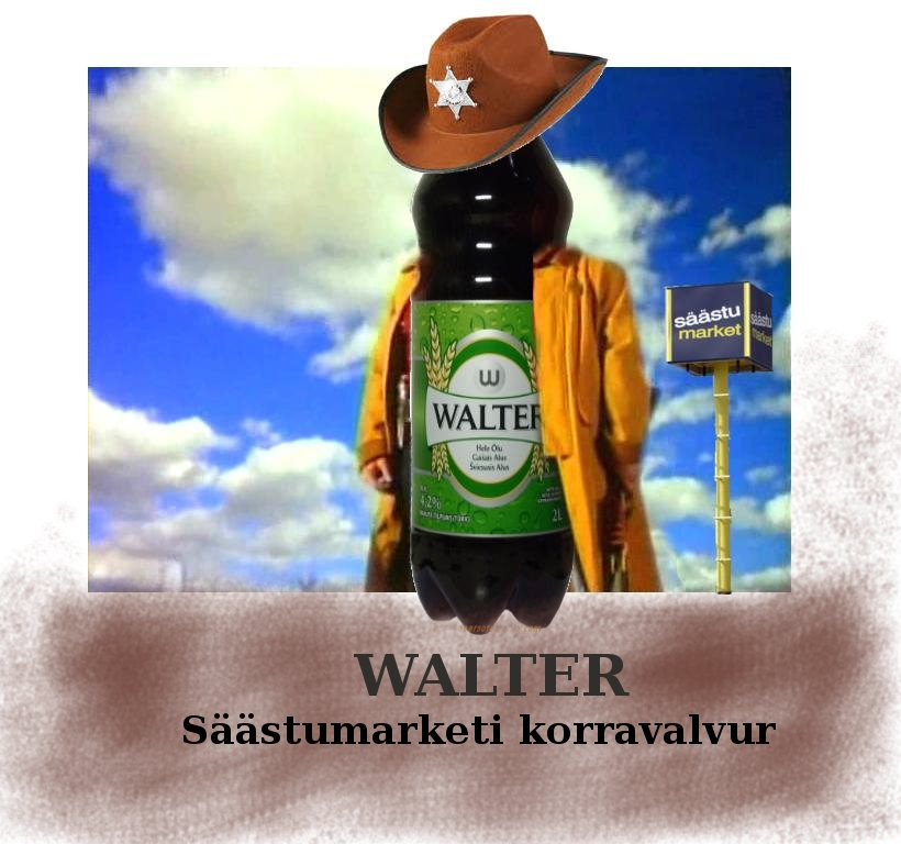 WALTER – Säästumarketi korravalvur. Uued osad